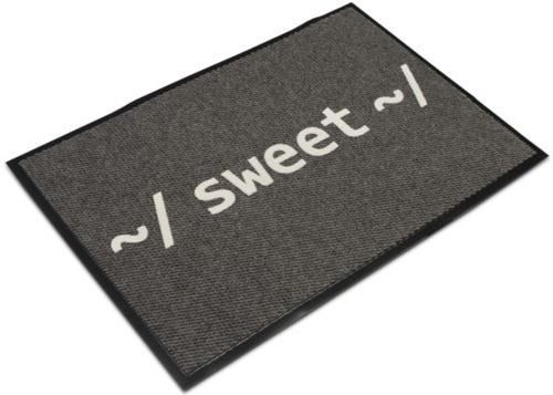 Sweet welcome mat geek linux geek fun pinterest welcome mats linux and geek culture - Geeky welcome mats ...