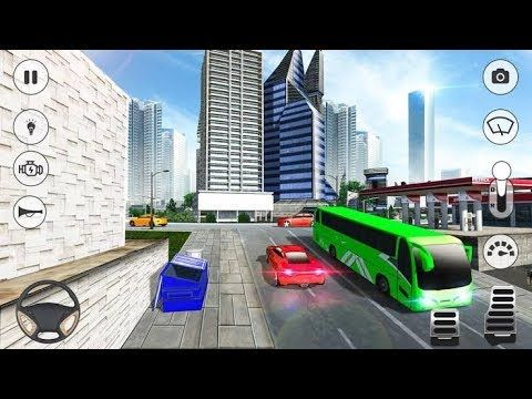 City Coach Bus Simulator 2019 Android Game Play With Images