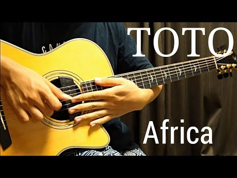 Africa Toto Acoustic Guitar Cover Fingerstyle Arranged By Kent Nishimura Youtube Guitar Acoustic Guitar Toto