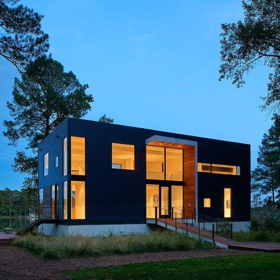 HOUSE ON SOLITUDE CREEK | Robert Gurney Architect