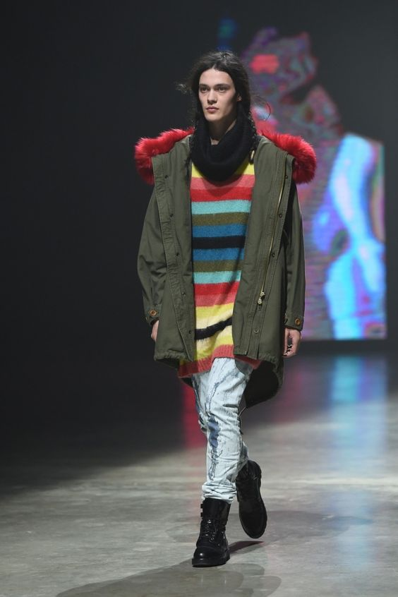 Nicola Formichetti Debuts First Collection for Diesel, Fall/Winter 2014 Menswear image diesel fall winter 2014 photos 005 800x1200