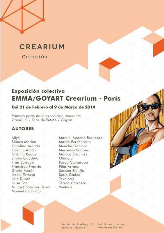 Exposicion en Crearium, Monzón Huesca www.oleosmonfort.com