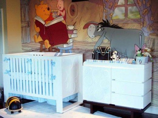 Disney Nursery Room. Future childs room idea for sure<3