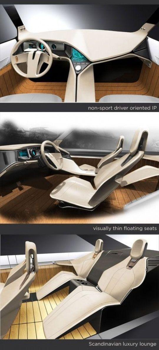 Auto Interiors Carseat Car Seat Concept In 2020 Car Interior Car Interior Sketch Concept Car Design