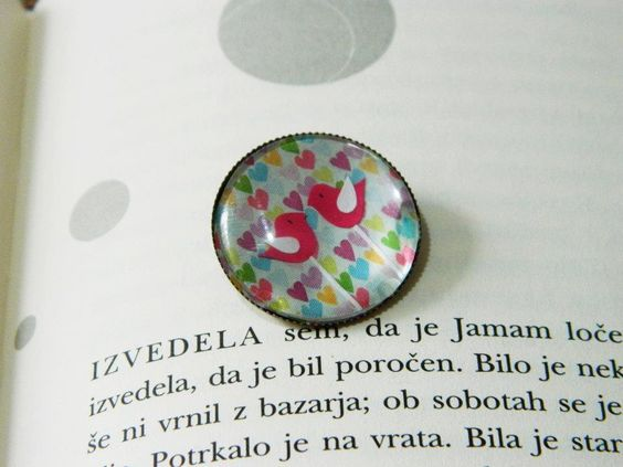 Unique brooch  Info: lintu.nakit@gmail.com