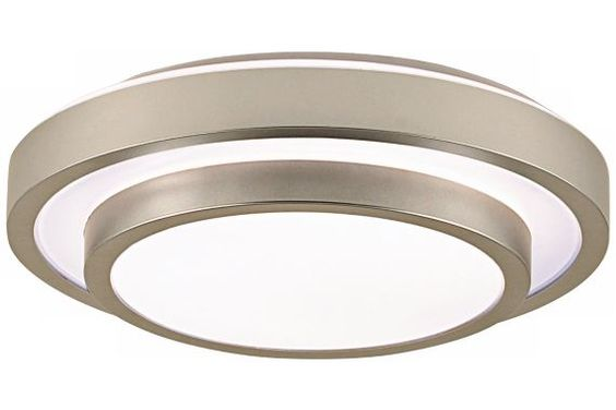 Eurofase Noire Modern Silver Flushmount Ceiling Light - #EUU5527 - Euro Style Lighting