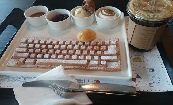 Move Over Belgian Waffles, the Real Keyboard Waffles Is Here: