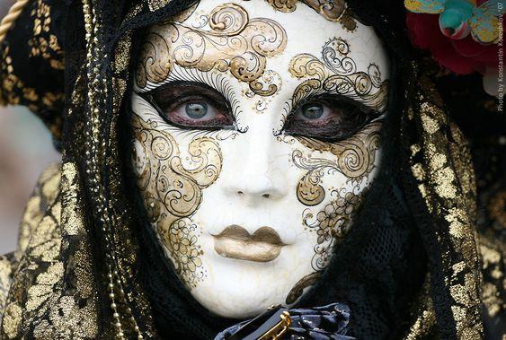Famous Venetian Mask