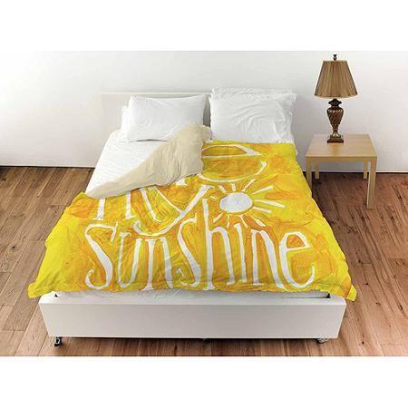 "Thumbprintz You are my Sunshine Queen Duvet Cover, 88"" x 88"""