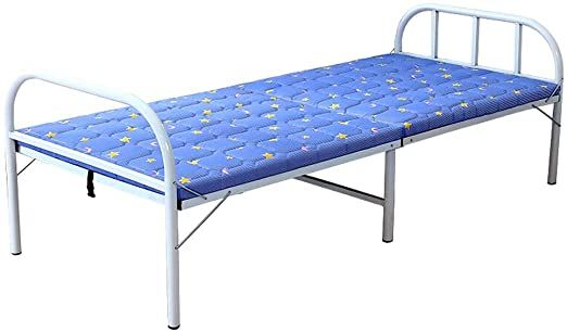 Shurndgao Foldable Folding Bed Simple Lunch Adjustable Bed Beach