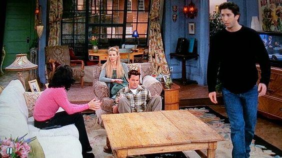 Monica's apartment friends tv show