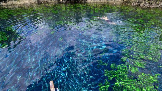 Sin duda un destino más para visitar en Guatemala, el Cráter Azul en Refugio de…