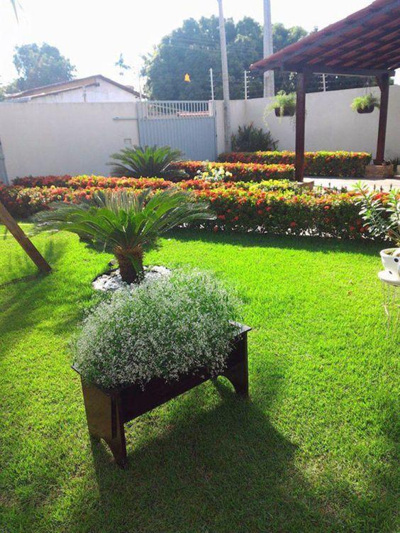 O jardim de Rosa Smith.