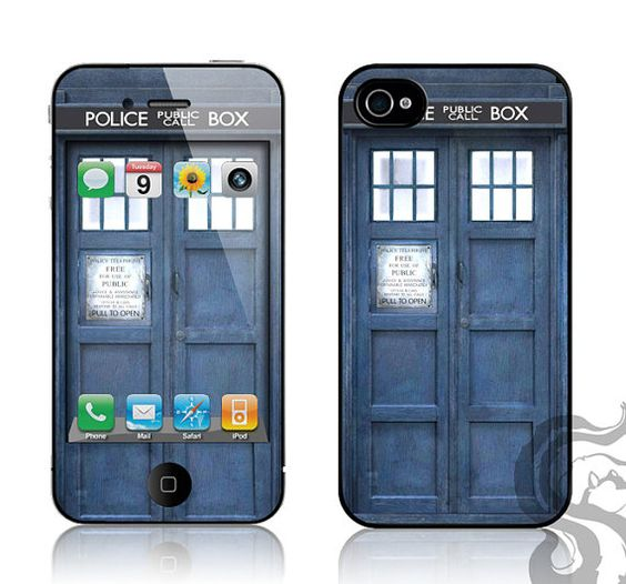 Tardis iPhone skin kit for the Daddyman.