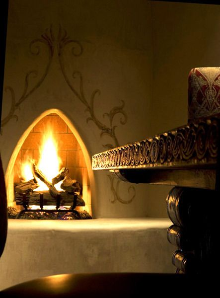 Fireplaces on pinterest for Kiva fireplaces