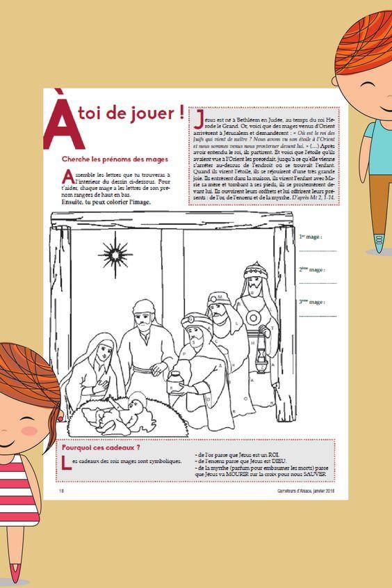 Page enfants Carrefours du0027Alsace - janvier 2018 #jeux #enfants