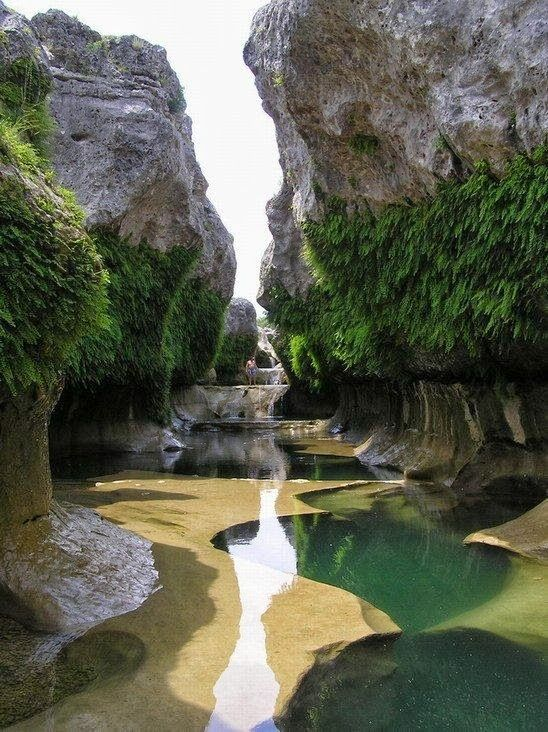 The Narrows in the Texas Hill Country.