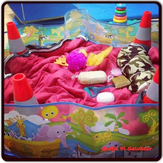 A jugar en esta piscina de texturas! Uno se sorprende de todo lo que puede encontrar en el supermercado!