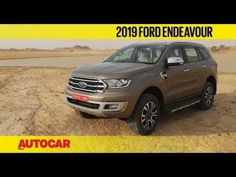 2019 Ford Endeavour Ford Endeavour 2019 Ford Ford