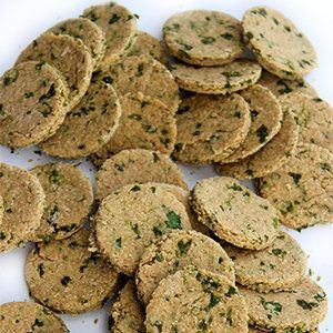 Delicious dog treats with just two ingredients.