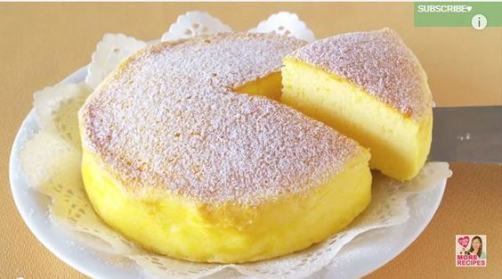 Torta giapponese con 3 ingredienti