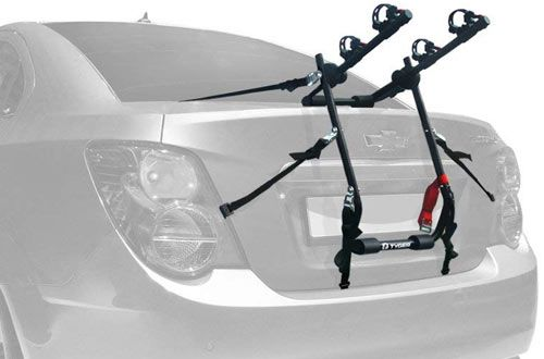 Tyger Deluxe 2 Bike Trunk Mount Bicycle Carrier Rack For Suv In 2020 Car Bike Rack Mini Van Bike