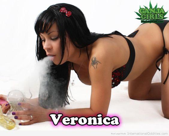 Veronica - via http://budquestions.com/htgb/weed-chicks-are-hot