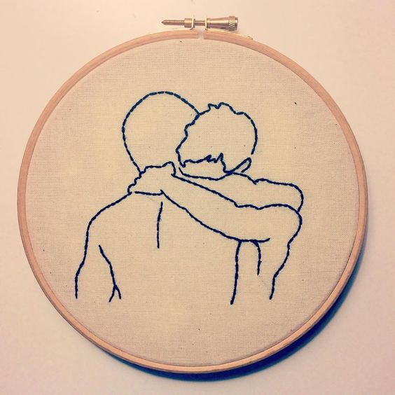 All you need is #love ❤️ #embroidery #embroideryhoop #embroideryinstaguild