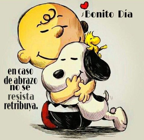 20 Imagenes De Buenos Dias Snoopy Con Frases Para Compartir Saludos De Buenos Dias Abrazo De Buenos Dias Imagenes De Buenos
