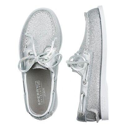 glitter boat shoes