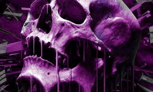 #purple #skull