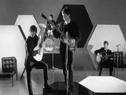 The Beatles And I Love Her Official Music Video Youtube