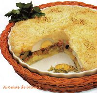 PASTEL DE PAPAS ~ Aromas de Mamá | Recetas de Cocina | aromasdemama.com