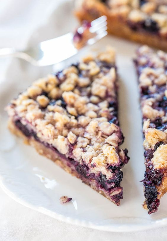 20 quick and simple breakfast recipes blueberry oatmeal for Quick easy healthy dessert recipes