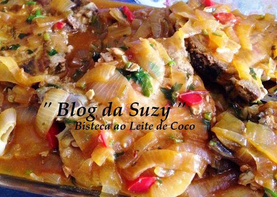 Blog da Suzy  : Bistecas ao Leite de Coco