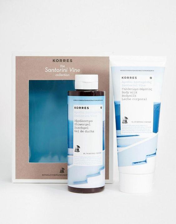 Korres   Korres Santorini Vine Collection SAVE 17% at ASOS