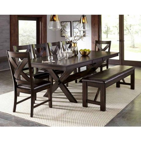 This Dark Brown Dining Table Seats Eight Comfortably Making It