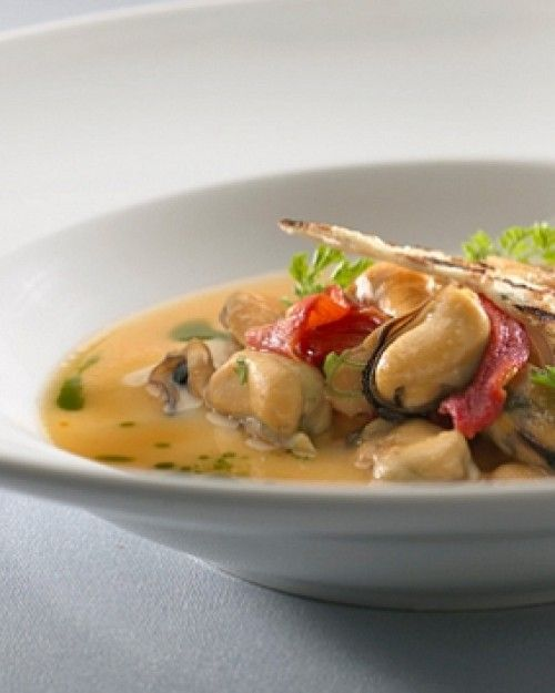 Expect super-fresh ingredients and straightforward presentation in the hotel restaurant. #Jetsetter