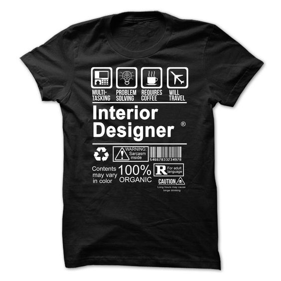 INTERIOR DESIGNER - L1 T Shirt, Hoodie, Sweatshirt. Check price ==► http://www.sunshirts.xyz/?p=130633