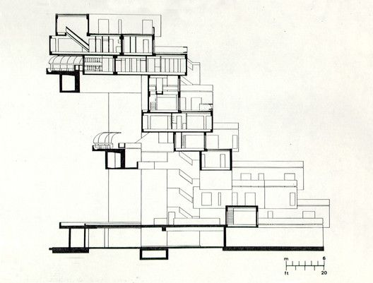 Gallery Of Ad Classics Habitat 67 Safdie Architects 17 In 2020 Habitats Architecture Drawing Brutalist Architecture