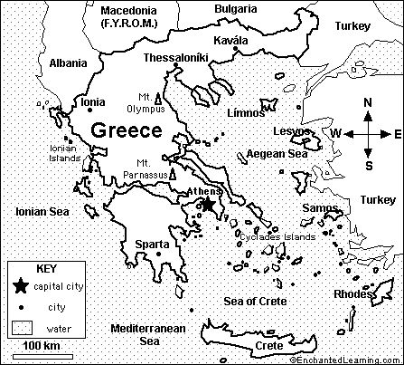 Worksheets Ancient Greece Map Worksheet ancient greece google and on pinterest map of modern day greece