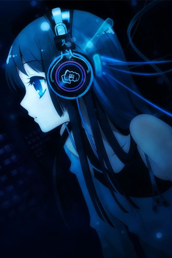 music girl wallpapers headphones - photo #24