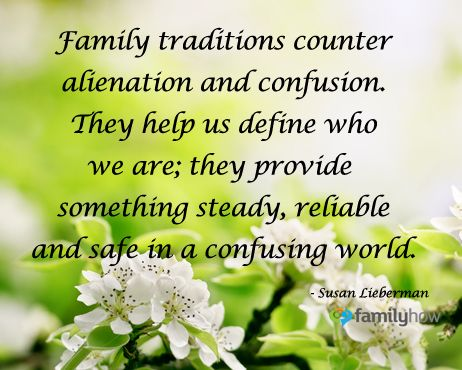 #Family traditions start with #mom.