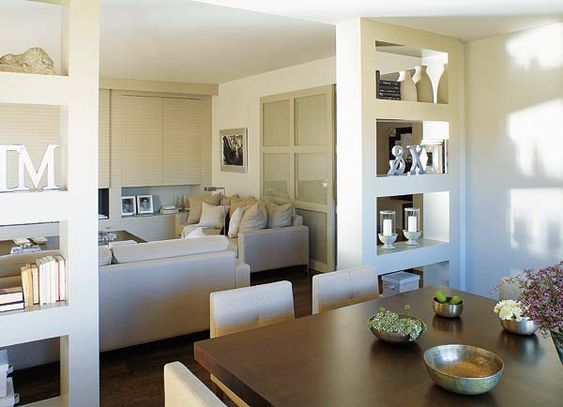Built In Shelves Between Dining Room And Liv Room To Separate Open Floor Plan Casa Pinterest