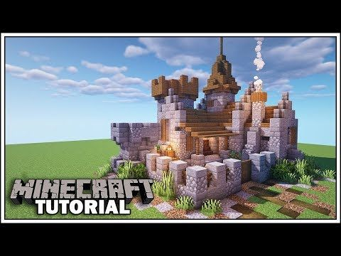 Minecraft Small Castle Tutorial How To Build Youtube In 2020