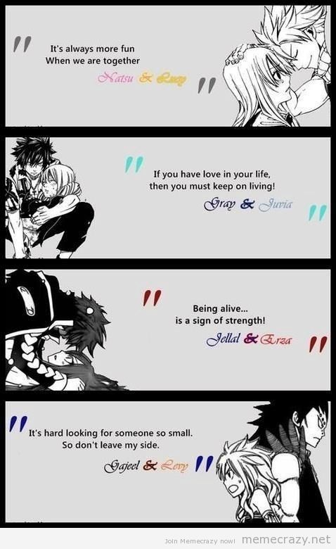 Fairy Tail Love Quotes Pinchloe930 On Manga  Pinterest  Fairy Fairytail And Anime