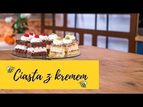 Klasyczna Wuzetka Ciasto Agrestowe Z Biala Czekolada Slodka Kuchnia Pszczolek Youtube Food Desserts Cake
