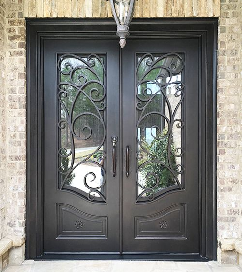 Custom Iron Doors Windows Abby Iron Doors With Images Iron
