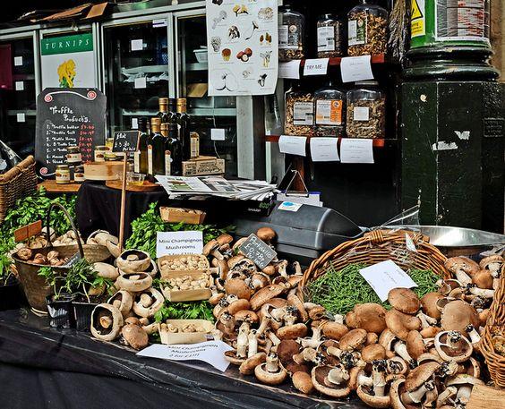 Mushroom Stall - Borough Market
