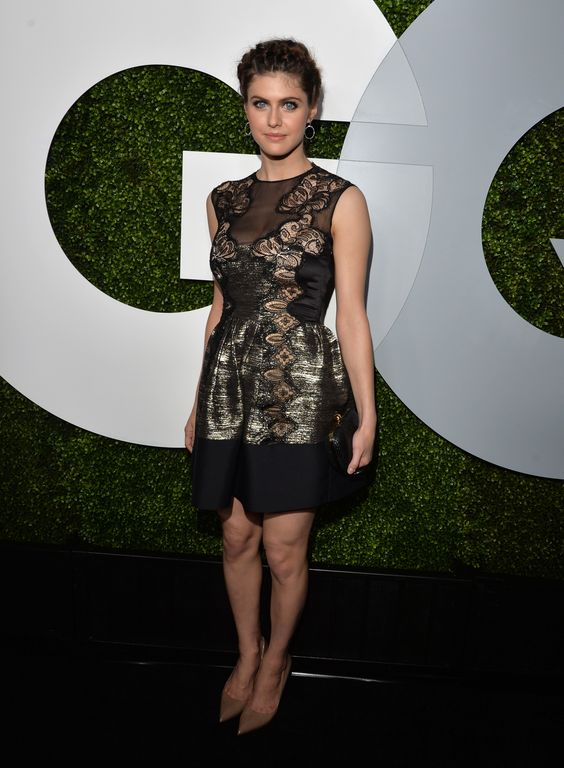 Alexandra Daddario – 2014 GQ Men Of The Year Party in LA 04.12.14